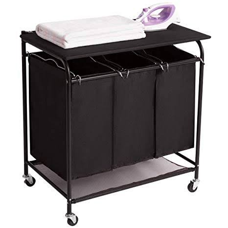 Laundry Hampers with Ironing Board/Folding Table