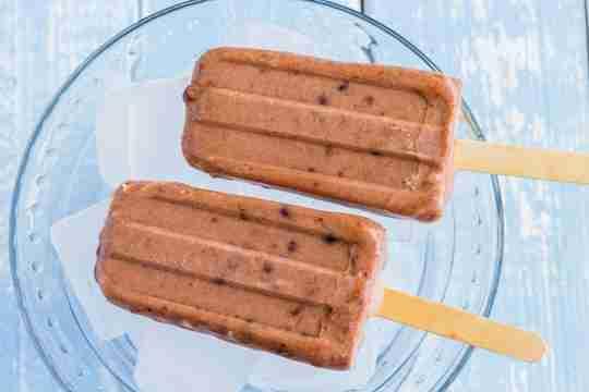 Collagen Chocolate Fudgesicles