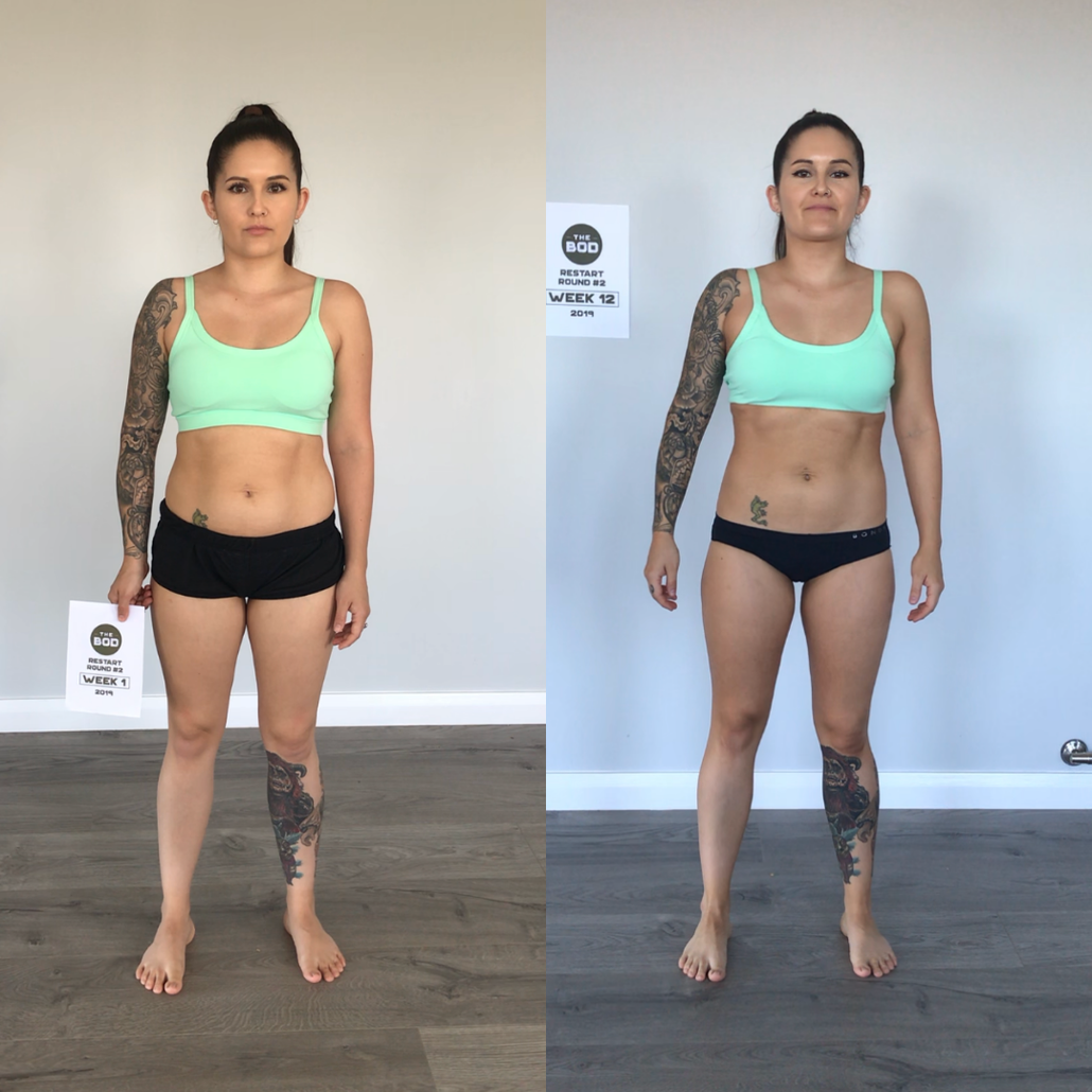 Real Results - Before and After Restart 12-Week Challenge THE BOD