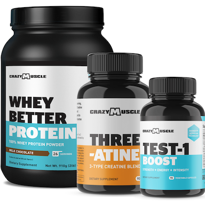 Three-Atine, Test-1 Boost, Protein