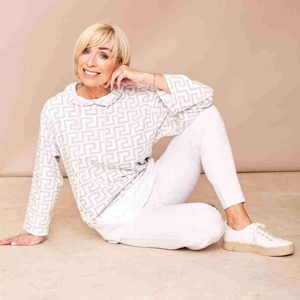 Lulu Hoody Shirt(White)