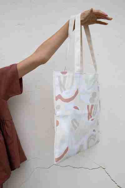 Spring Capsule Wardrobe | Berenice Print Canvas Tote
