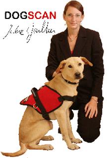 détection canine dogscan rocky julie gaultier