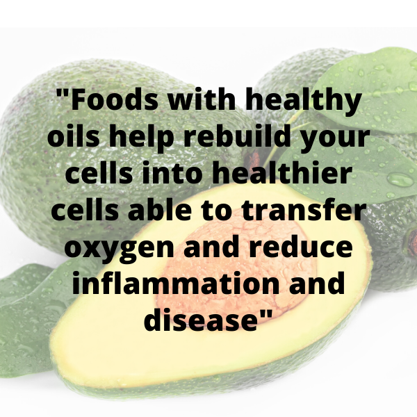 Eat healthy oils