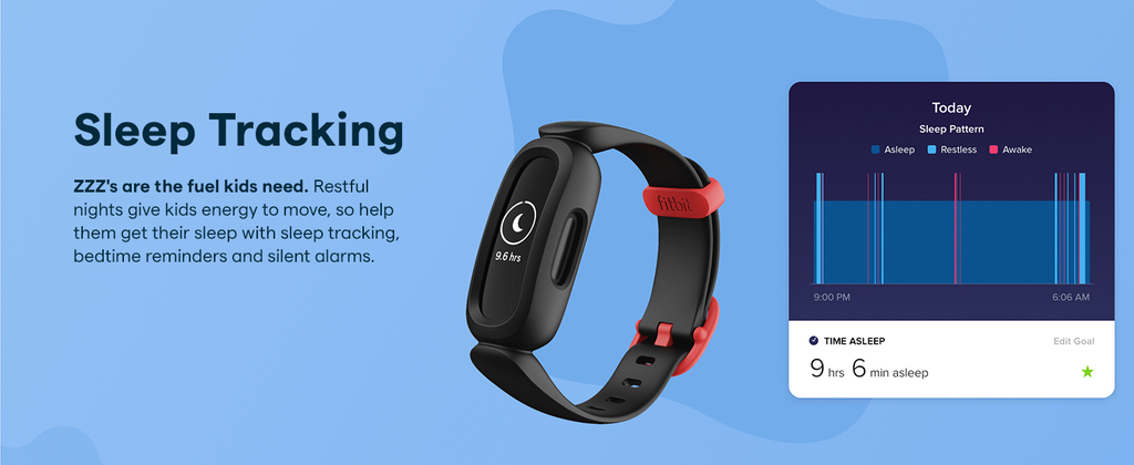 Fitbit Ace 3 Sleep tracking