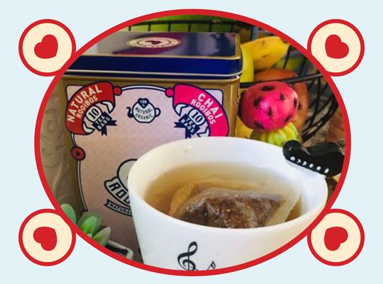 rooibos rocks tea tin
