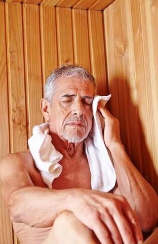 Avoid Dehydration in a Sauna
