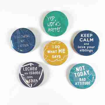 primary bible study buttons