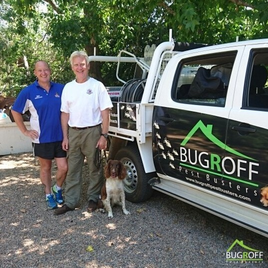 Steve Olver from Bugroff Pest Busters uses the Power Planter 224hd for termite station installation