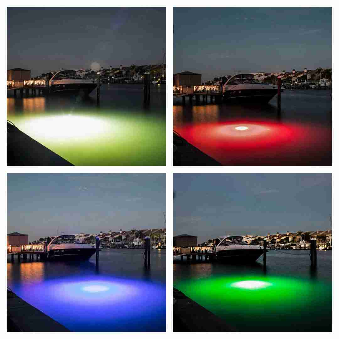 underwater led dock lights