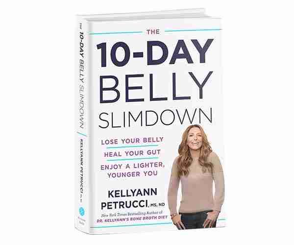 Livre slimal du ventre de la Dre Kellyann 10 jours