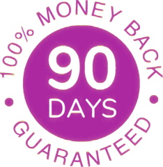 90 Day Money Back Guarantee for SilkTouch IPL Laser Hair Removal