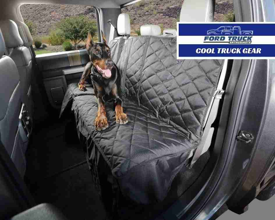 Ford F-150 Seat Cover Means More Adventures With Your Dog