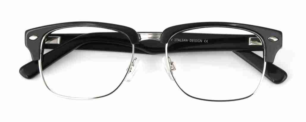 black clubmaster glasses
