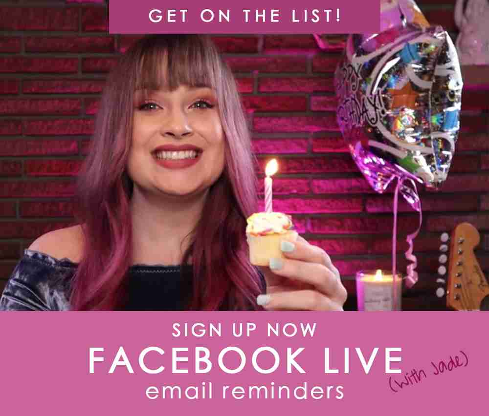 Jackpot Candles Facebook LIVE reminder