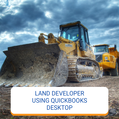 Land Developer Using QuickBooks Desktop