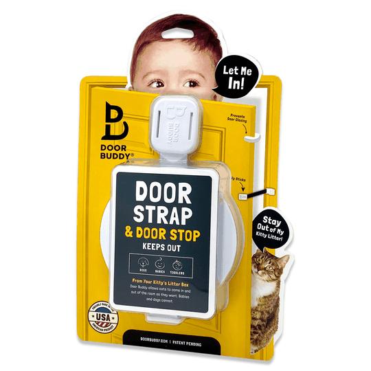 baby door latch and baby door stopper door buddy