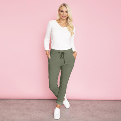Charlie Relaxed Stretch Jogger (Khaki)