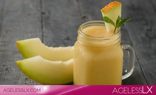 Cucumber-Melon Smoothies