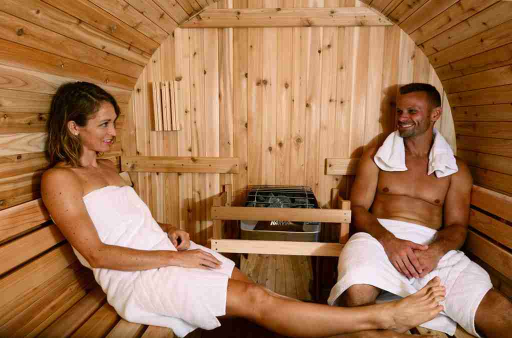 Healthiest type of sauna for skincare