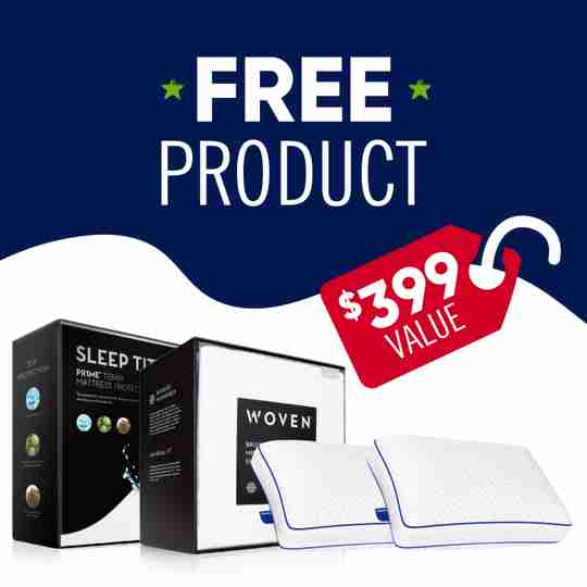 Free Product with Nectar Mattress at Sleep First