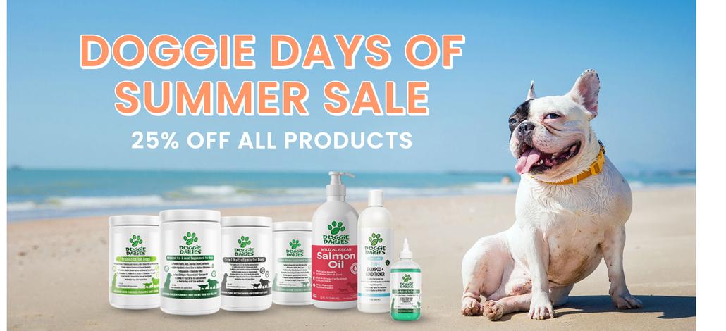 Doggie Days of Summer Sale