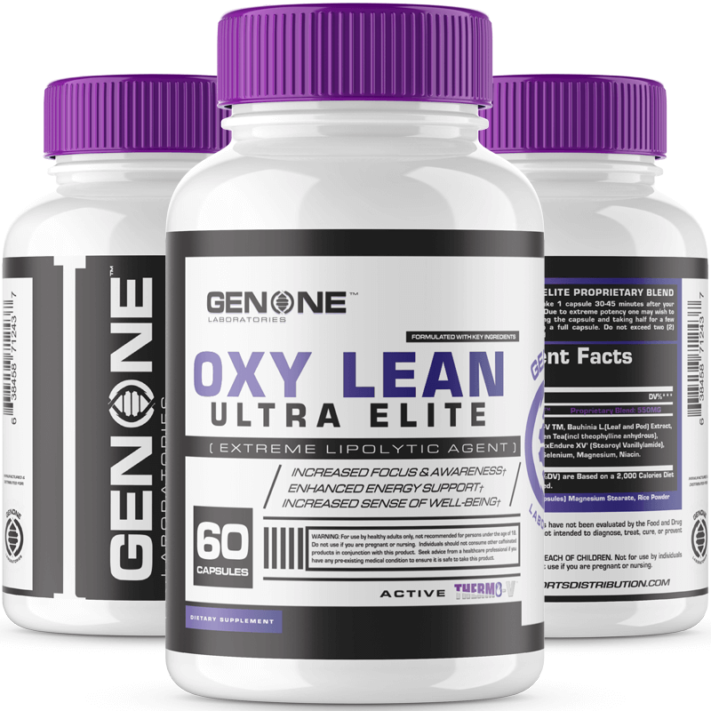 Oxy lean elite 3 bottle