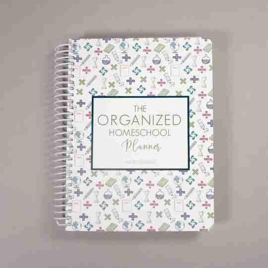 Organized Homeschool Planner