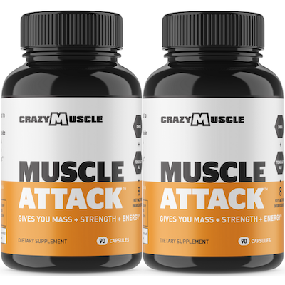 Muscle Attack - 2 Bottles