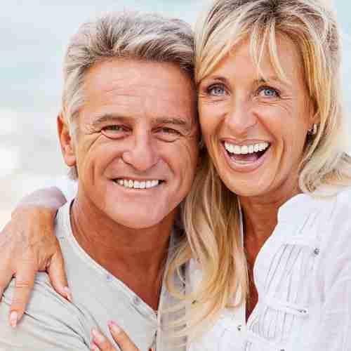 Healthy Older Couple Outside