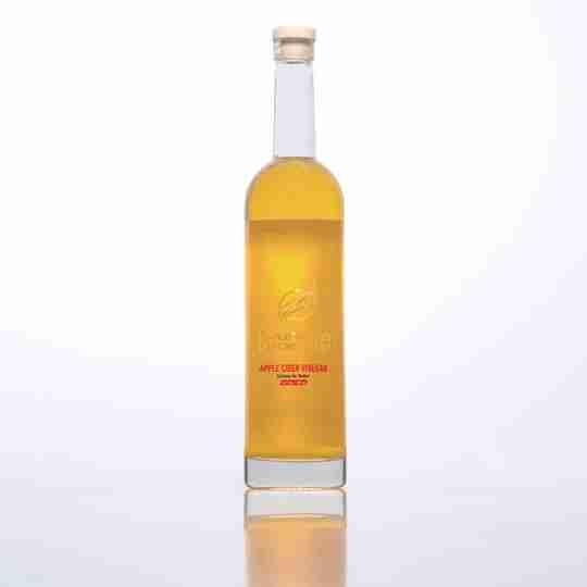 Strength Genesis Apple Cider Vinegar White Background