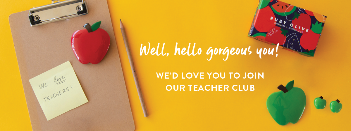 Join the Ruby Olive Teacher Club