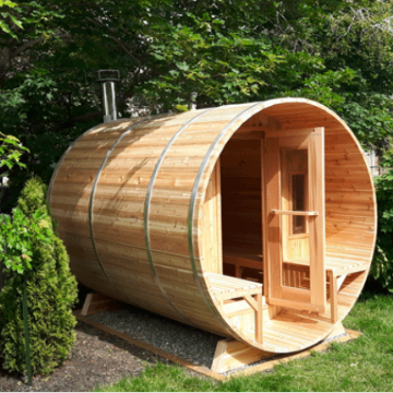 knotty cedar barrel sauna my sauna world dundalk leisurecraft