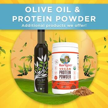 MaryRuth Organics Olive Oil & Protein Powder
