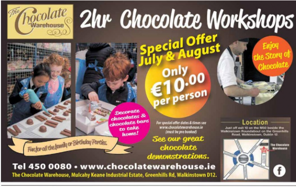 Chocolate Workshops at The Chocolate Warehouse