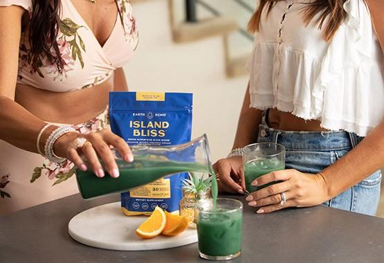 Island Bliss by Earth Echo Foods - Maximum Energy & Productivity