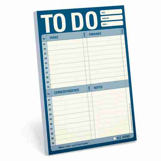 List Pad | Twisted Wares