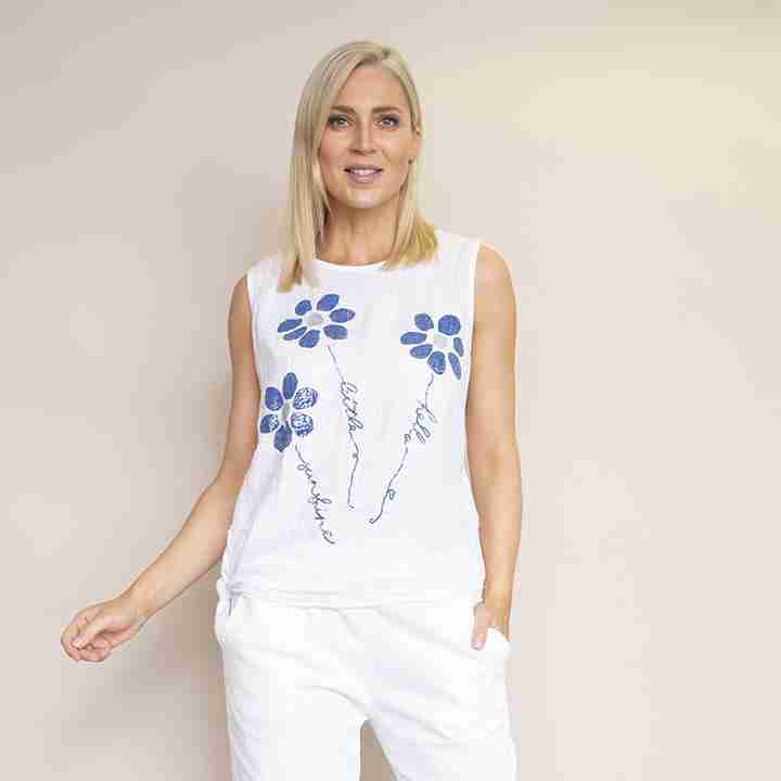 Laura Top(White)