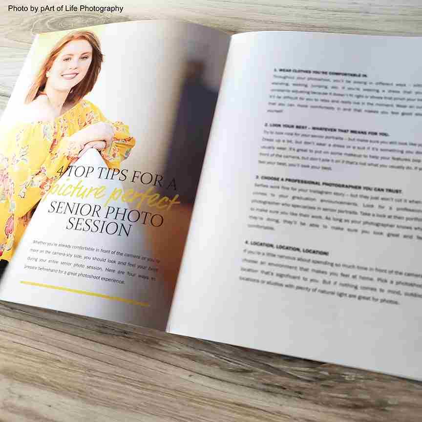 Senior Photography Welcome Guide Template
