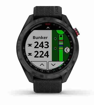 Garmin Approach S42 GPS Watch Preloaded Courses