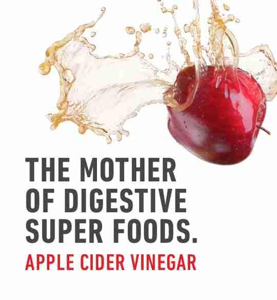 The Mother of Digestive Super Foods Apple Cider Vinegar Apple