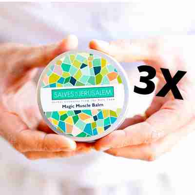 organic minty magic muscle balm with arnica and menthol crystals, camphor, eucalyptus, tea tree, winter green essential oils and aromatherapy
