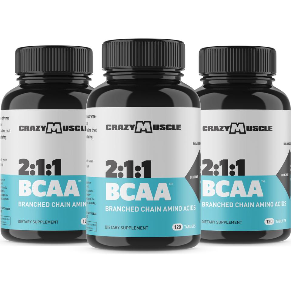 BCAAs - 3 Bottles