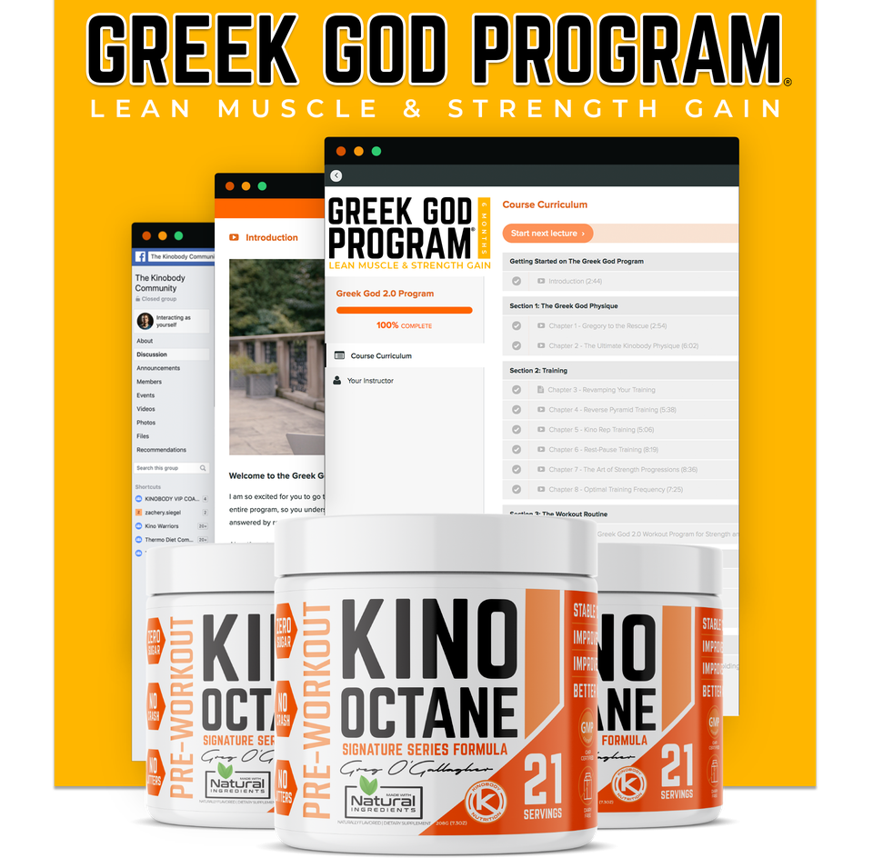 Greek God Program and 3 Octane
