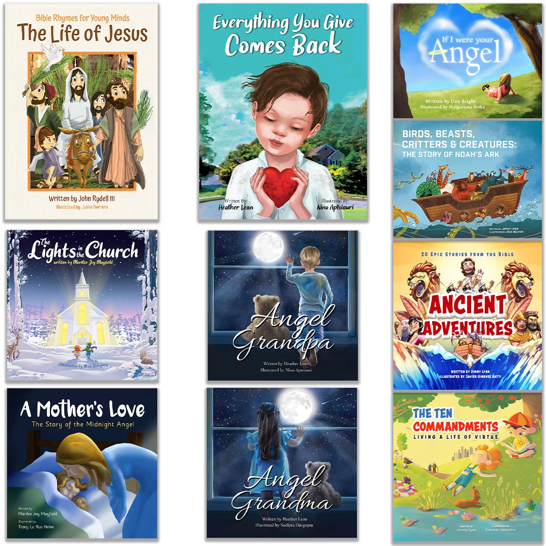 The Life of Jesus: The Lord's Bundle (10 Books)