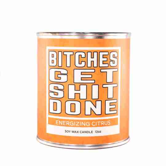 Salty Bitch Funny Words on Soy Candles | Twisted Wares®