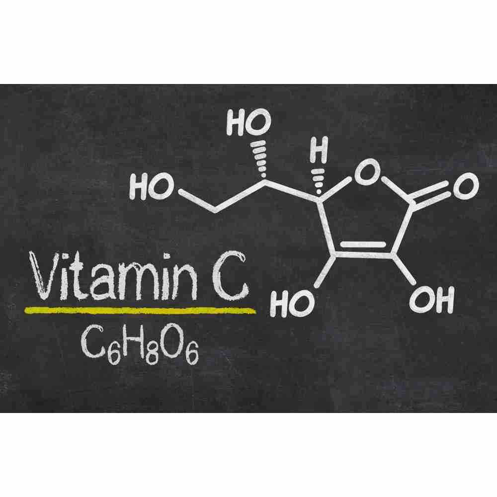 Vitamin C molecular make up