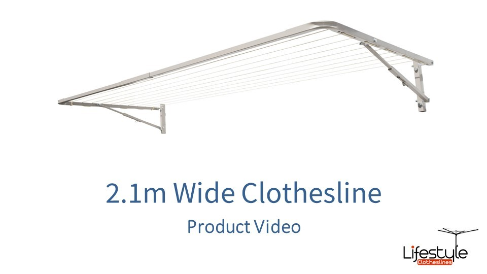 2.1m wide clothesline product link