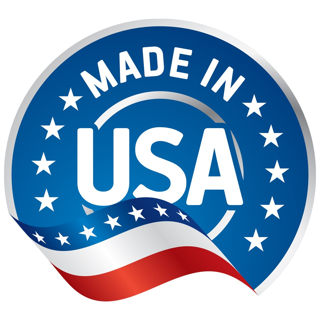 All products are proudly made in the USA.