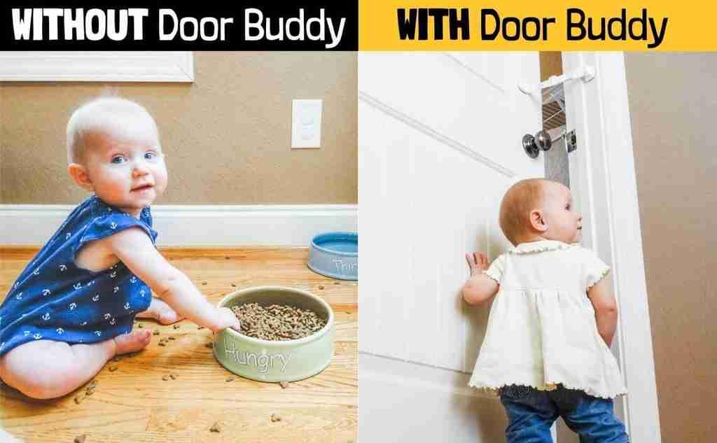 baby door latch and lock